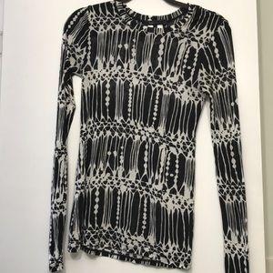 BCBGMAXAZRIA long sleeves top